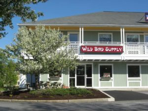 view of wild bird supply storefront