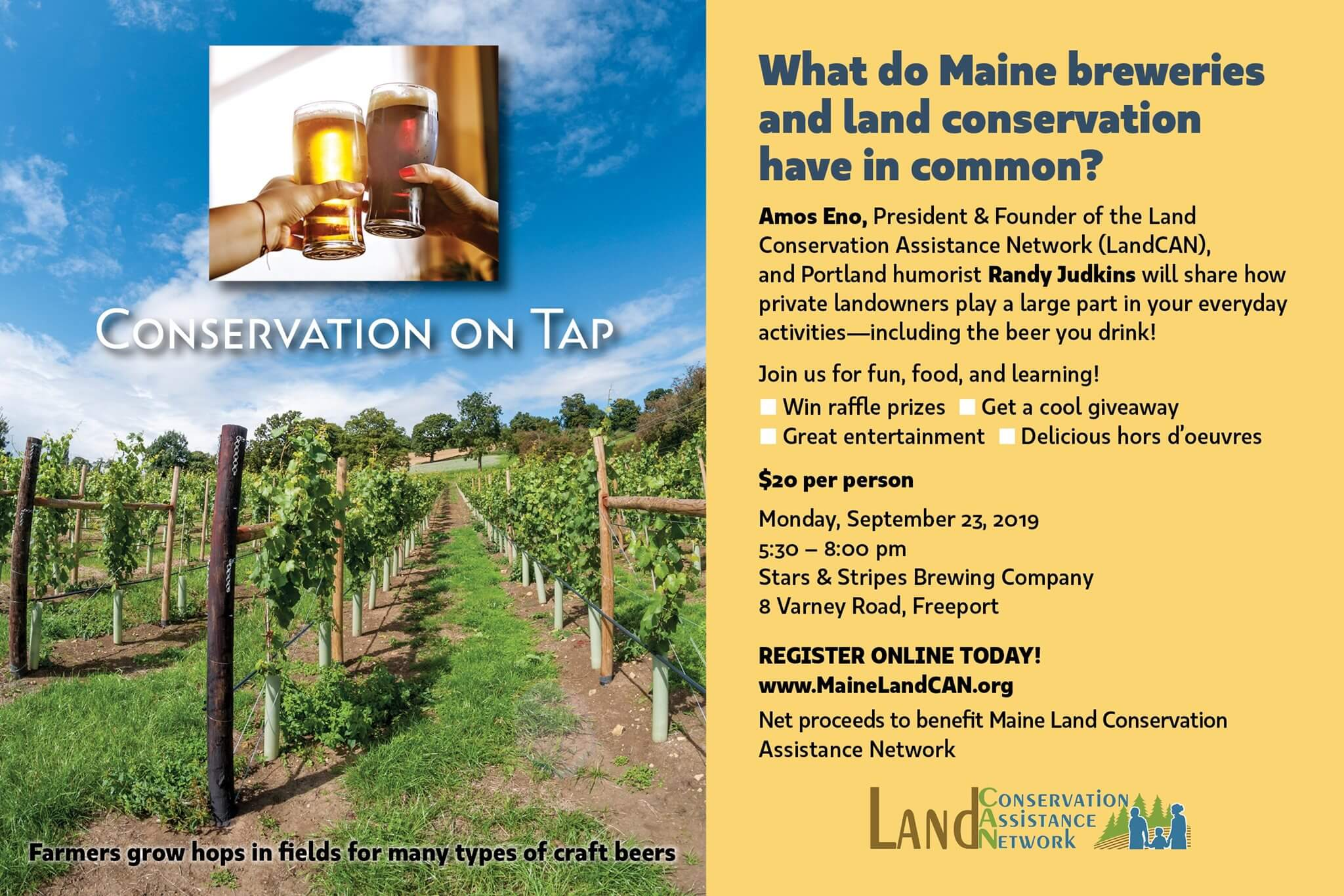 Stars & Stripes Brewing Company - Conservation On Tap