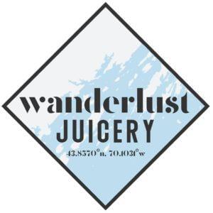 wanderlust juicery logo