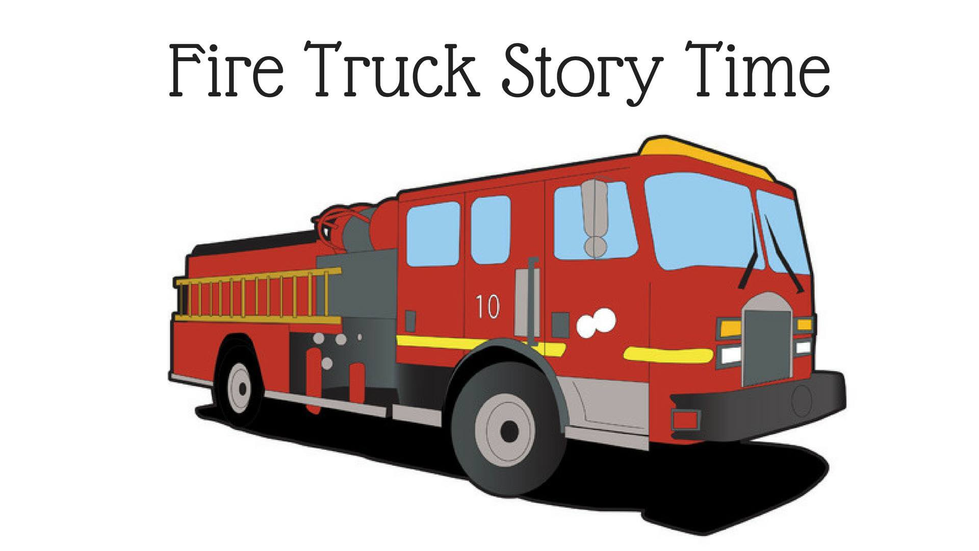 Freeport Community Library - Fire Truck Story Time