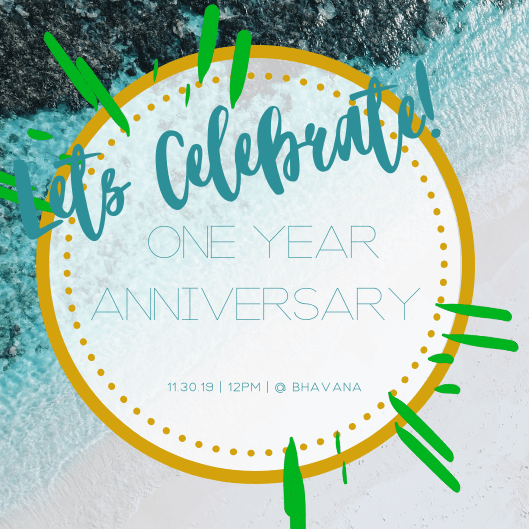 Bhavana Spa - One Year Anniversary Celebration