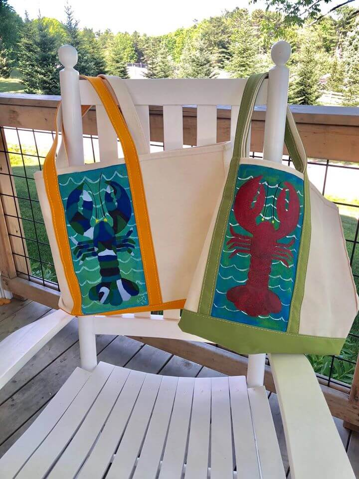 L.L.Bean - Boat and Tote Painting Class