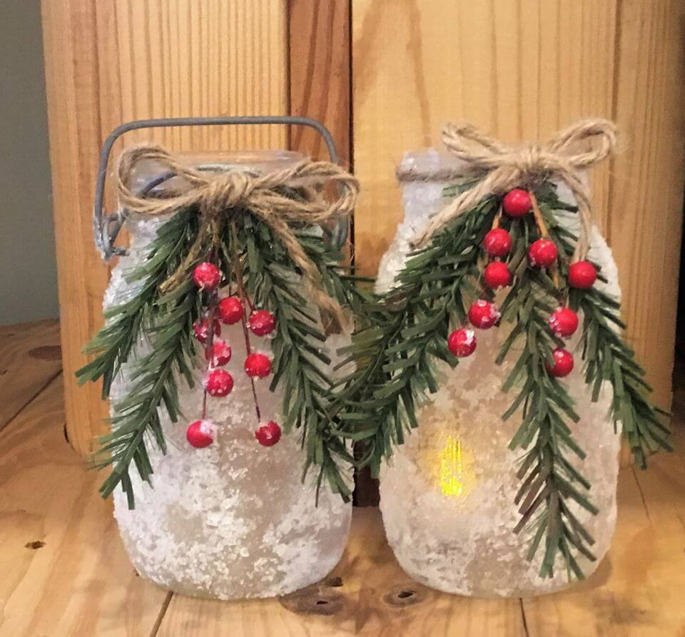 Kate's Cottage Collectibles - Decorate 'n Take Snowy Day Mason Jar